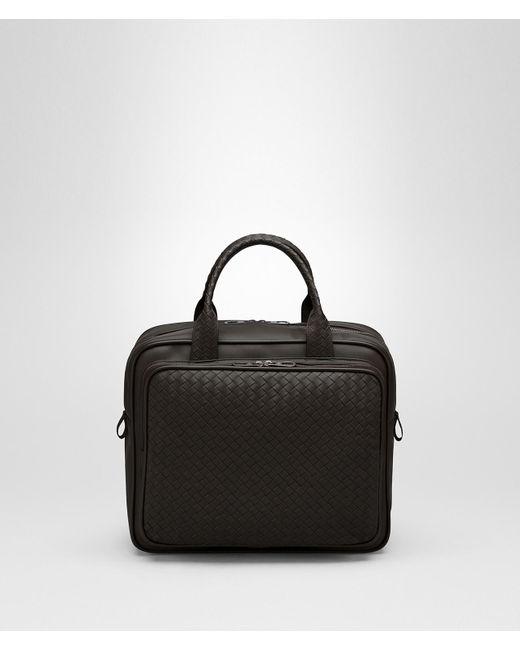 263281349938 Bottega Veneta - Brown Steel Intrecciato Briefcase - Lyst ...