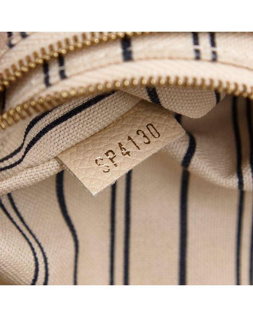 Lyst Louis Vuitton Monogram Empreinte Lumineuse Pm In White