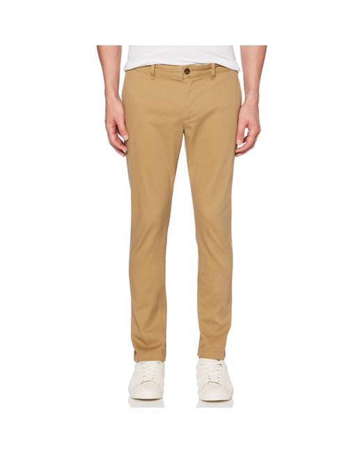 Original Penguin - Natural Slim Fit Twill Chino for Men - Lyst