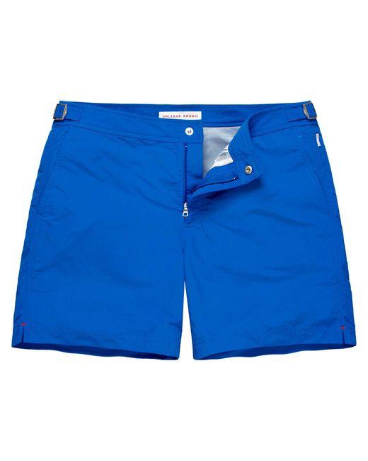 Orlebar Brown | Blue Bulldog Cotton Twill for Men | Lyst