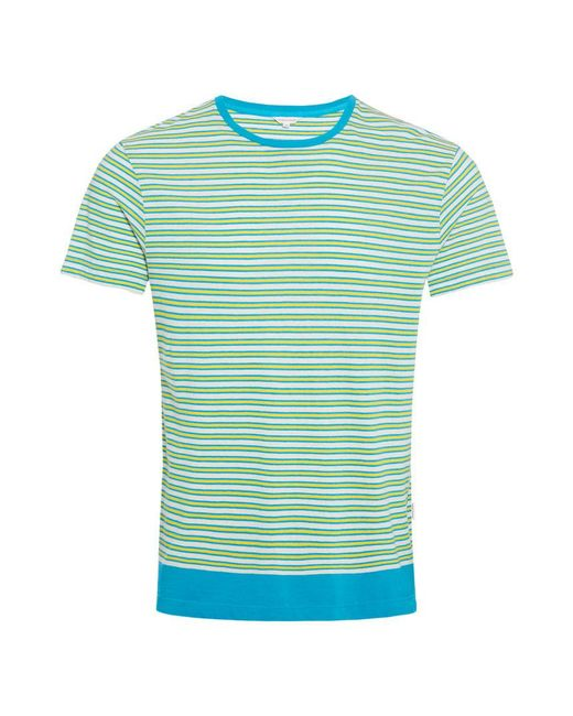Orlebar Brown - Blue Sammy Toucan/azure Classic-fit T-shirt for Men - Lyst