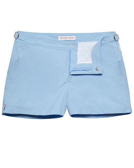Orlebar Brown - Springer Powder Blue Shortest-length Swim Shorts for Men - Lyst