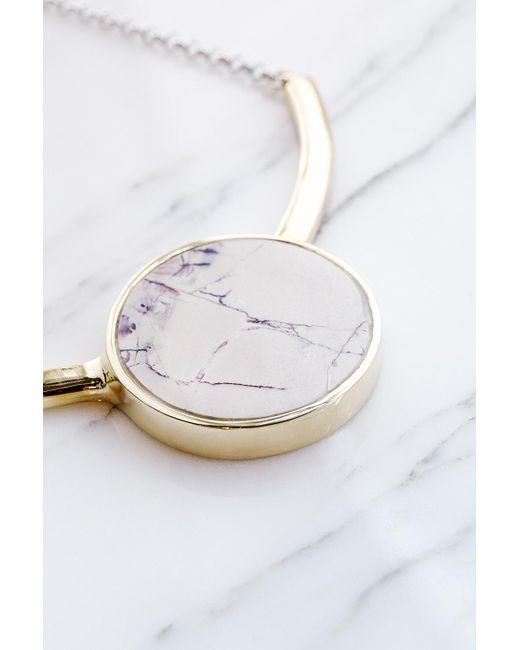 Quarry | Multicolor Salvador Necklace In Brace, Marble Jasper | Lyst