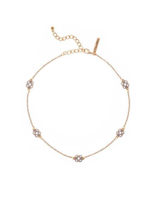 Oscar de la Renta | Metallic Pavé Mosaico Necklace | Lyst