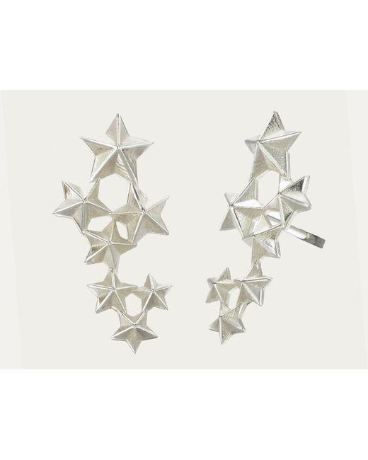 Zoe & Morgan   Metallic Seven Sisters Earrings   Lyst