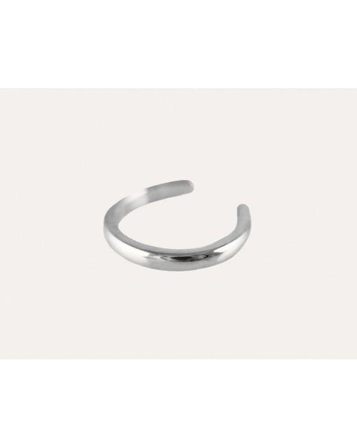 Lumo | Metallic Silver Ear Cuff | Lyst