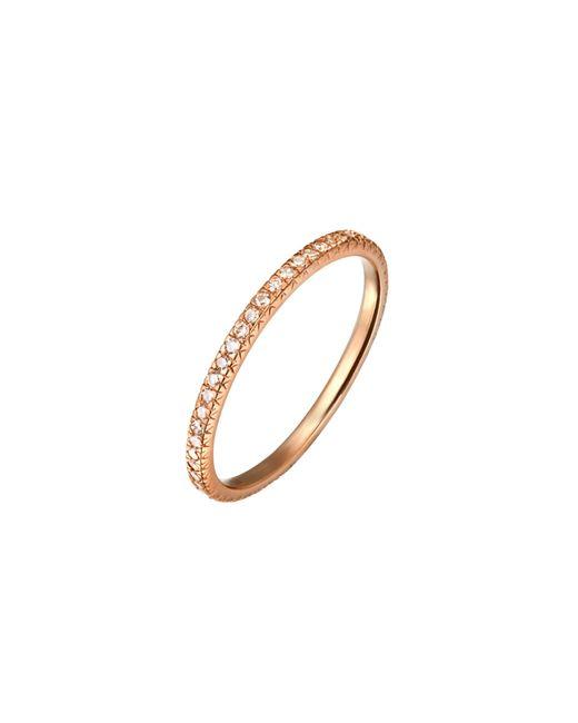 Demitasse | Metallic Micro Pave Ring | Lyst