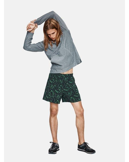 Outdoor Voices | Green Printed Runner's High Shorts for Men | Lyst