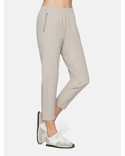 Outdoor Voices - Gray Stretch Crepe Track Pant - Lyst