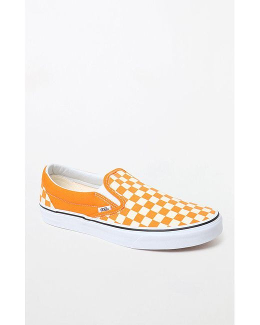 orange vans shoes