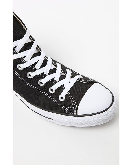 76736bc8d1b186 ... Converse - Chuck Taylor Black   White High Top Shoes for Men - Lyst