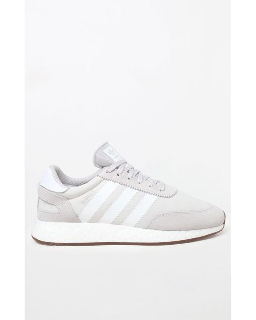 the latest c275f d318b ... Lyst Adidas - I-5923 Grey  White Shoes for Men ...