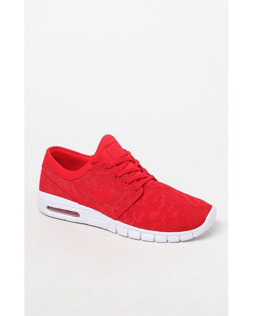 best loved 13924 db62c Nike - Stefan Janoski Max Red Shoes for Men - Lyst ...