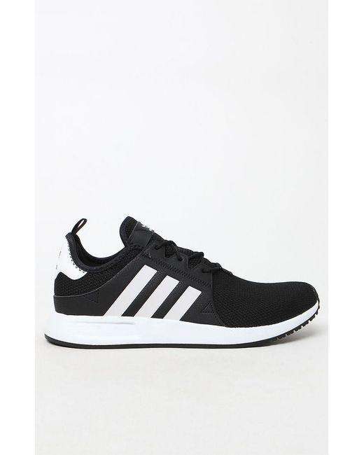 e6d917f04 Lyst - adidas X  Plr Knit Black   White Shoes in Black for Men