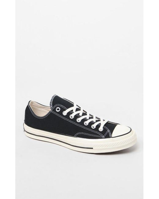 96cbf2f19b0729 Lyst - Converse Chuck Taylor All Star Low Black Shoes in Black for Men