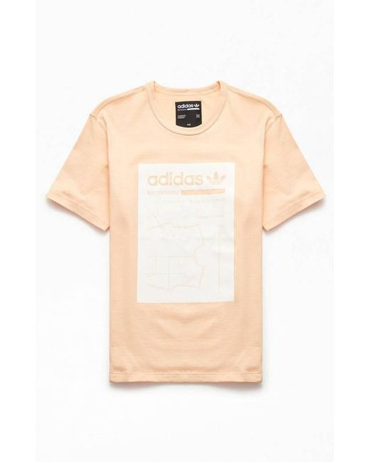 04e969bc Adidas - Multicolor Peach Kaval Grp T-shirt for Men - Lyst ...