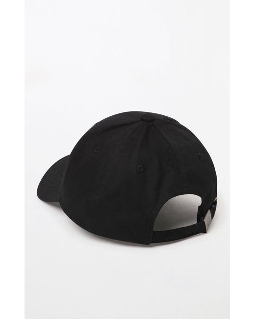 ... Kappa - Black Strapback Dad Hat for Men - Lyst ... 88fe688cff47