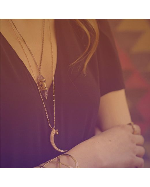 Pamela Love | Yellow Eagle Claw Necklace | Lyst