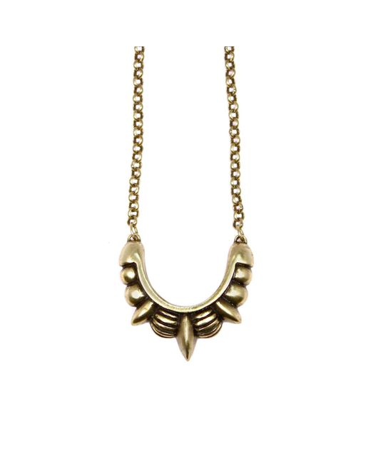 Pamela Love | Metallic Small Spike Necklace | Lyst