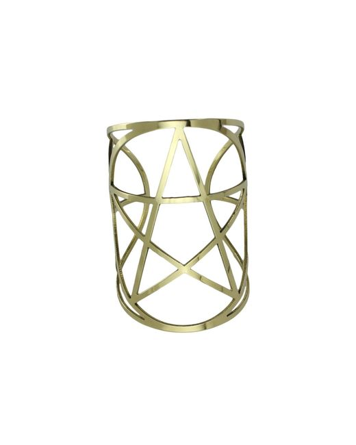 Pamela Love | Yellow Mini Pentagram Cuff | Lyst