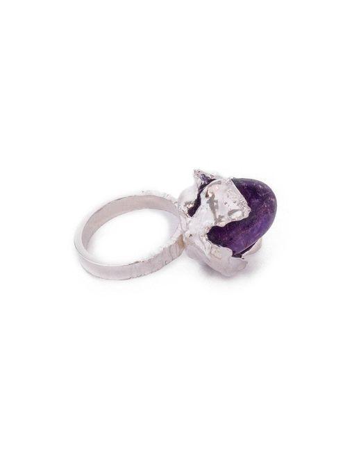 Pamela Love | Purple Flower Blossom Ring | Lyst