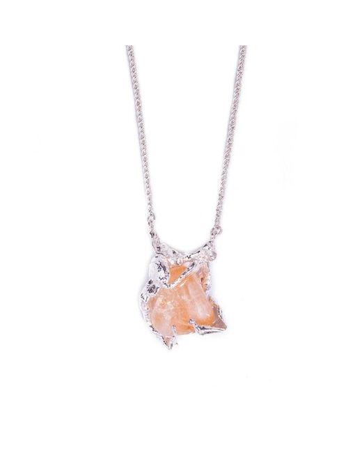Pamela Love | Orange Ripened Fruit Necklace | Lyst