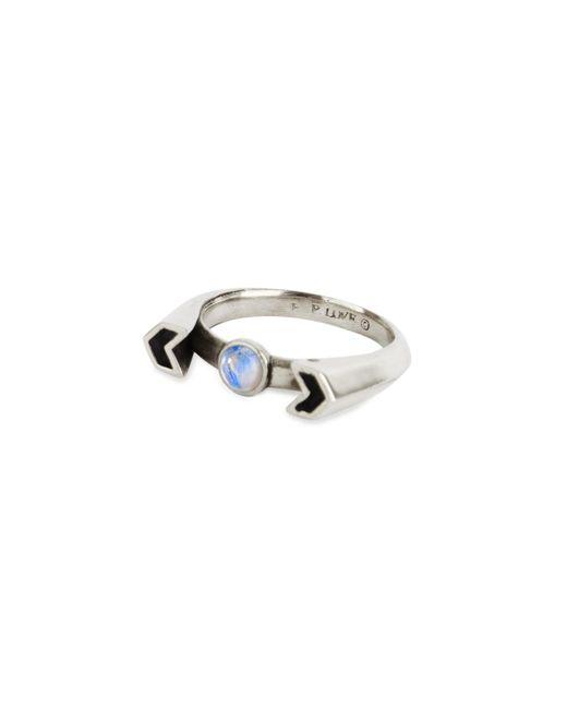 Pamela Love | Metallic Chevron Reveal Ring | Lyst