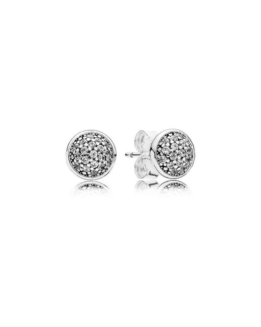 Pandora | Multicolor Dazzling Droplets Stud Earrings | Lyst