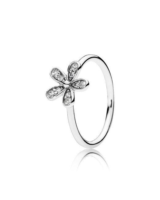 Pandora - Metallic Dazzling Daisy Ring - Lyst