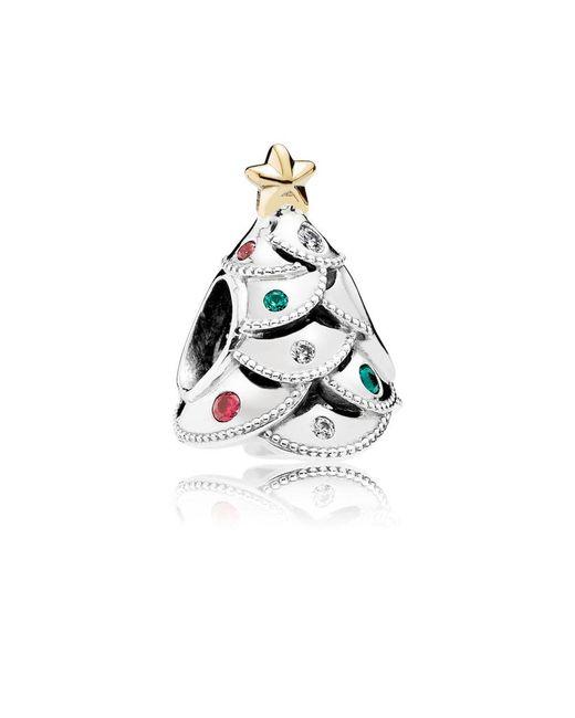 Pandora - Multicolor Festive Tree Charm - Lyst