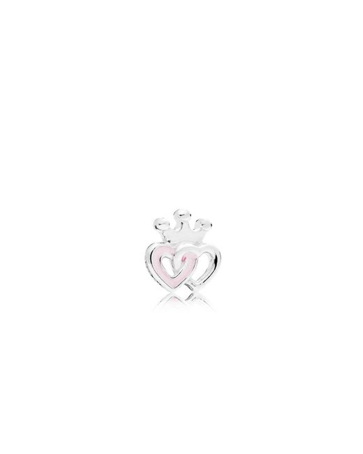 Pandora | Multicolor Crowned Hearts Petite Locket Charm | Lyst