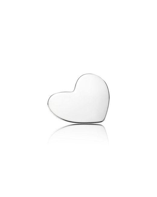 Pandora   White Heart Locket Plate - Medium   Lyst