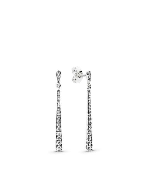 Pandora - Metallic Shooting Stars Dangle Earrings - Lyst