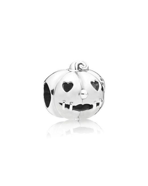 Pandora - Metallic Sweet Pumpkin Charm - Lyst
