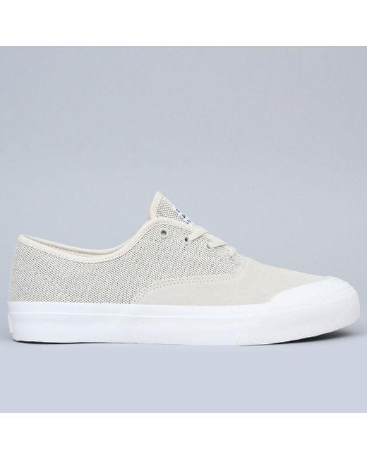 0359ab81023ce Huf - Natural Cromer Shoes Cream / Black for Men - Lyst ...