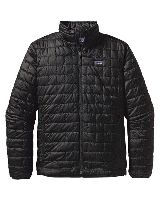 Patagonia - Black Nano Puff Jacket for Men - Lyst