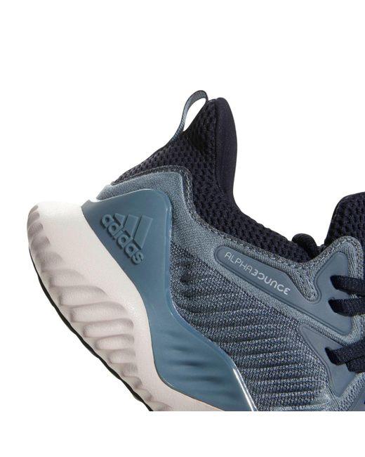 ad7e67fd5 ... Adidas - Blue Alphabounce Beyond Running Shoes – Womens for Men - Lyst  ...