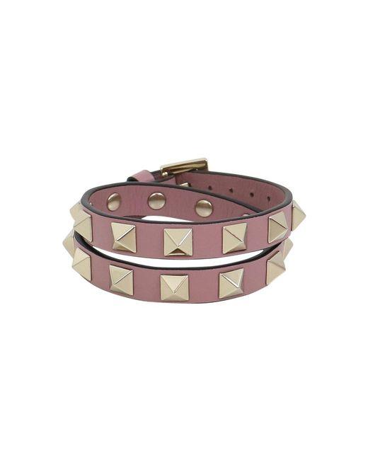 Valentino   Multicolor Rockstud Wrap Leather Cuff Lipstick   Lyst