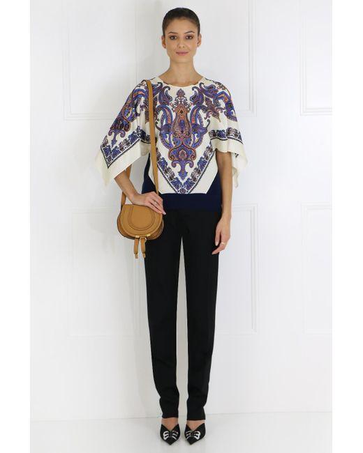 de511cee039 ... Chloé - Marcie Small Bag Autumnal Brown - Lyst ...