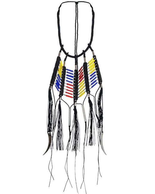 En Inde | Suez Handwound Neckpiece Black/yellow/blue/red | Lyst