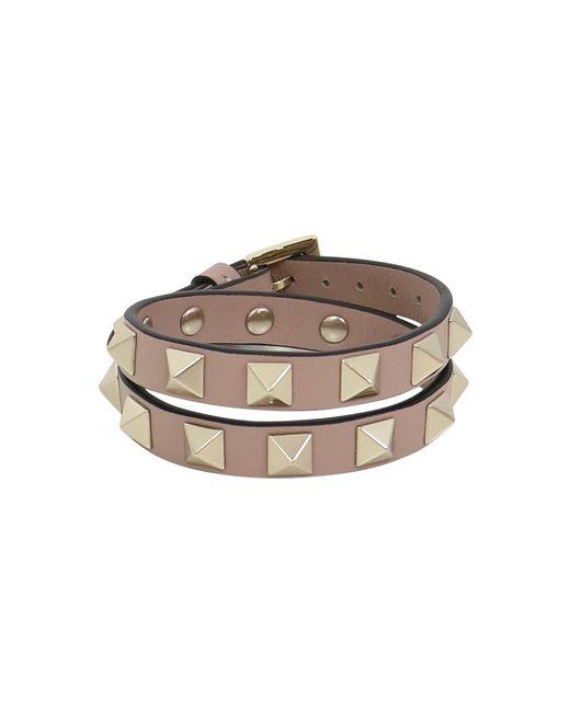 Valentino - Multicolor Rockstud Wrap Leather Cuff Lipstick - Lyst