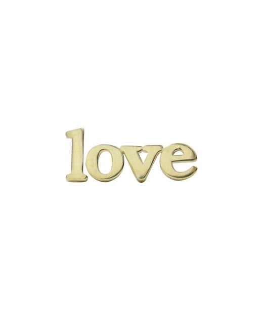 Jennifer Meyer | Love Earring Yellow Gold | Lyst