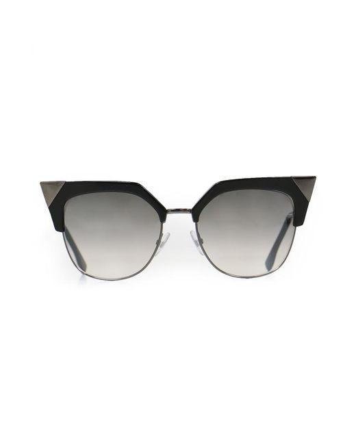 Fendi | Iridia Sunglasses Black | Lyst
