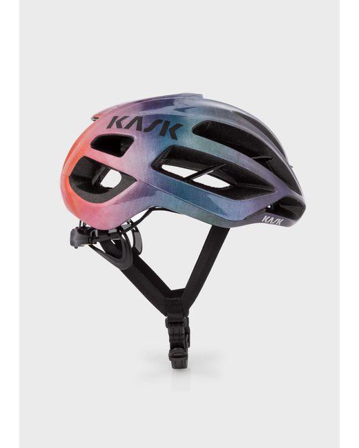 Paul Smith - Multicolor Kask 'Rainbow Gradient' Protone Cycling Helmet for Men - Lyst