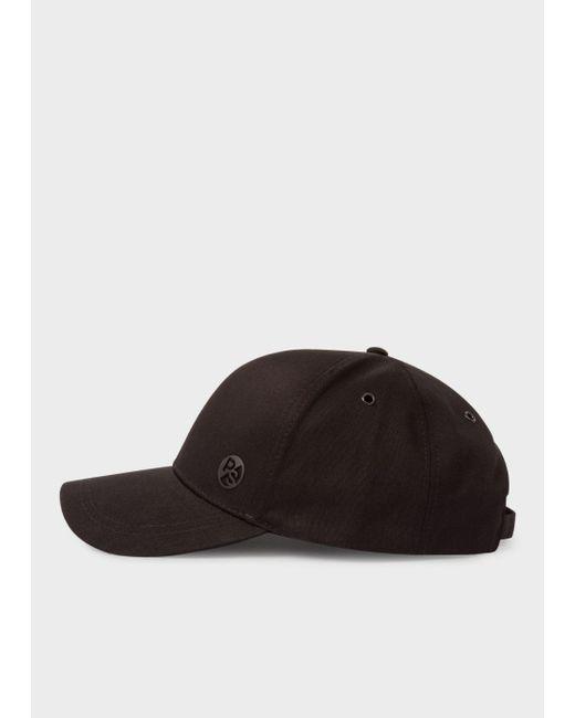 Paul Smith   Men's Black Cotton Baseball Cap for Men   Lyst