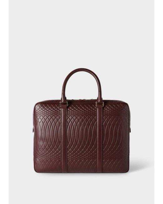 Paul Smith | Multicolor No.9 - Damson Leather Slim Business Folio for Men | Lyst