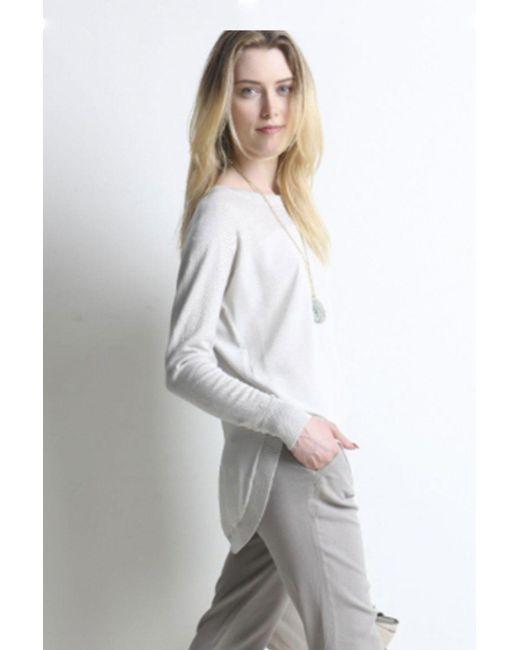 Go> By Go Silk - Multicolor Half 'n' Half Sweater - Lyst