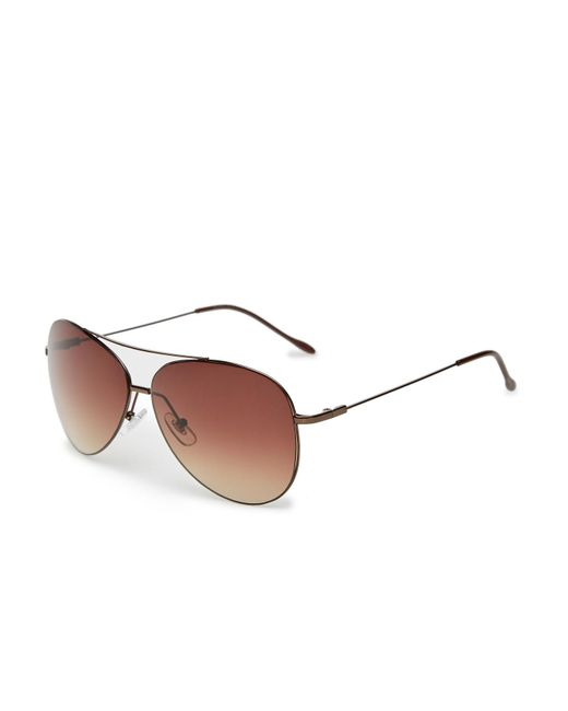 782523cdcf6 Perry Ellis - Brown The Pilot Sunglasses for Men - Lyst ...