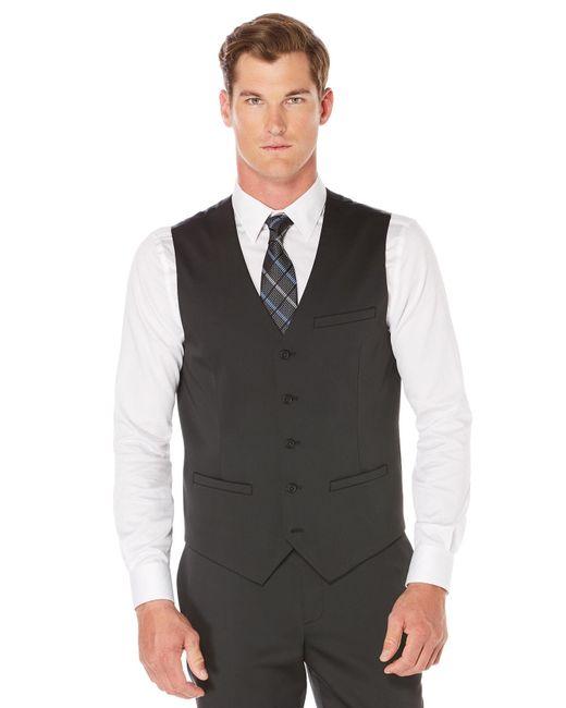 Perry Ellis - Black Travel Luxe Tech Suit Vest for Men - Lyst