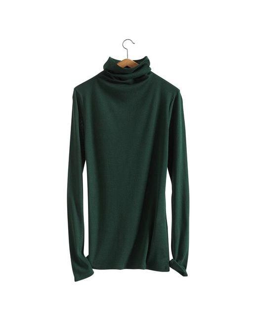 Petit Bateau | Green Women's Light Cotton Fine Sweater | Lyst